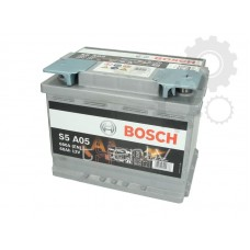BOSCH Akumulators S5A 05 60Ah 680A start/stop AGM