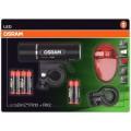OSRAM LED velosipēda apgaismojuma komplekts, LEDSBIKE-FX10+RX2