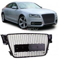 Audi A5 B8 (07-11) RS-style reste, glancēta melna