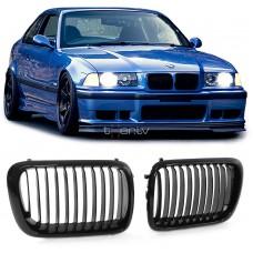 BMW e36 (90-96) reste, glancēti melnas