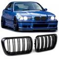 BMW e36 (96-99) reste, M-style, glancēti melnas