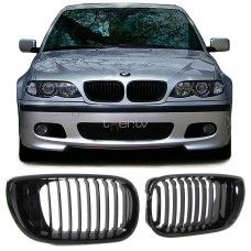 BMW e46 4D/5D (01-05) reste, glancēti melna
