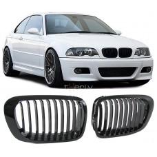 BMW e46 2D (99-03) reste, glancēti melnas