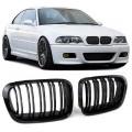 BMW e46 4D/5D (98-01) reste, M-style, glancēti melna