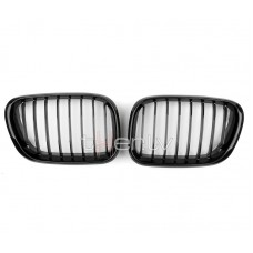 BMW x5 e53 (99-04) reste, glancēti melna
