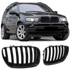 BMW X5 e53 (04-06) reste, glancēti melna