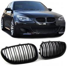 BMW e60/e61 (03-10) reste, M-style glancēti melnas