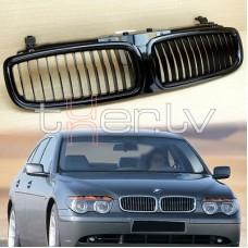 BMW e65 (01-05) reste, glancēti melna