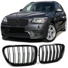 BMW X1 e84 (09-) reste, M-style, glancēti melna