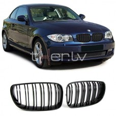 BMW e81, e82, e87, e88 (07-12) reste, M-style, glancēti melna