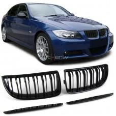 BMW e90/e91 (05-08) reste, M-style, glancēti melnas