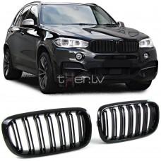 BMW X5 f15/X6 f16 (13-) reste, M-style, glancēti melnas