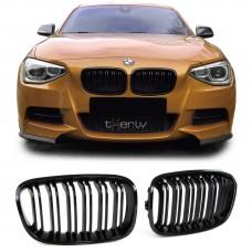 BMW f20 (11-15) reste, M-style, glancēti melna