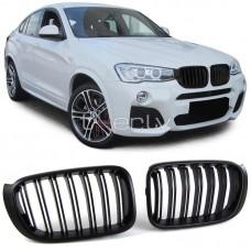 BMW X3 f25/X4 f26 (14-) reste, M-style, melna