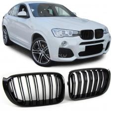BMW X3 f25/X4 f26 (14-) reste, M-style, glancēti melna