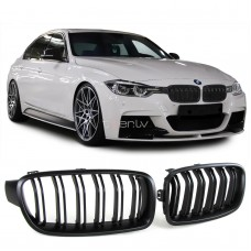 BMW f30/f31 (11-) reste, M-style, melna