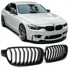 BMW f30/f31 (11-) reste, glancēti melna
