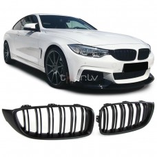 BMW f32/f33/f36/f82 (13-) reste, M-style, melnas