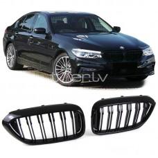 BMW g30/g31 (16-) reste, M5 style, glancēti melnas