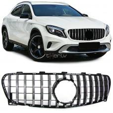 Mercedes GLA x156 (17-) reste, melna/hromēta