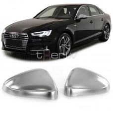 Audi A4 B9 (15-), A5 B9 (16-) spoguļu uzlikas, sudraba matēts