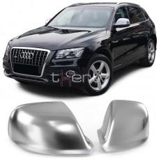 Audi Q5 8R (08-), Q7 4L (09-15) spoguļu uzlikas, sudraba matēts