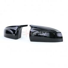 BMW X5/X6 e70/e71 (06-13) M spoguļu uzlikas, glancēti melnas