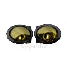 BMW e39 (95-03), e46 (98-05) M-Pack miglas lukturi, yellow