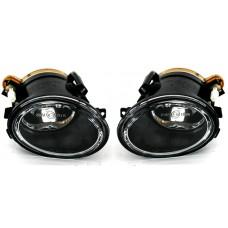 BMW e39 (95-03), e46 (98-05) M-Pack miglas lukturi, crystal
