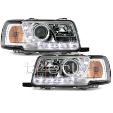 Audi 80 B4 (91-94) LED lukturi, hromēti