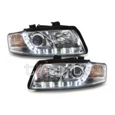 Audi A4 B6 (01-04) DRL lukturi, hromēti
