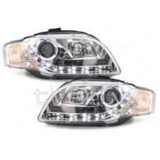 Audi A4 B7 (04-07) LED lukturi, hromēti