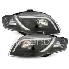 Audi A4 B7 (04-07) DRL lukturi, melni