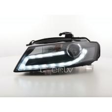 Audi A4 B8 (07-12) DRL lukturi, melni 2