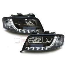 Audi A6 C5 (01-04) DRL lukturi, melni