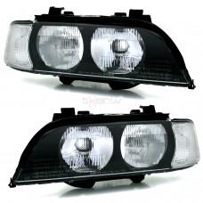 BMW e39 (95-00) lukturi, balti pagriezienu rādītāji