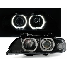 BMW e39 (95-00) xenon, LED lukturi, melni
