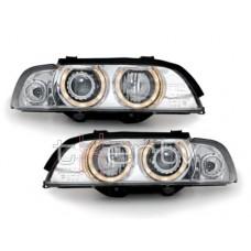 BMW e39 (95-00) xenon lukturi, hromēti