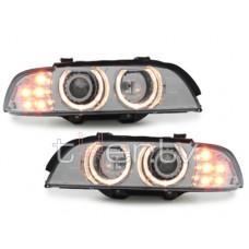 BMW e39 (95-00) lukturi, LED pagriezienu rādītāji, hromēti