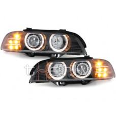 BMW e39 (95-00) lukturi, LED pagriezienu rādītāji, melni