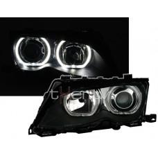 BMW e46 4D/5D (01-) LED lukturi, melni