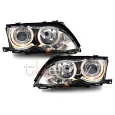 BMW e46 4D/5D (01-) lukturi, hromēti
