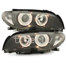 BMW e46 2D (03-06) lukturi, melni