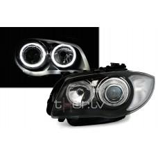 BMW e81/e82/e87/e88 (04-11) LED lukturi, melni