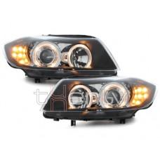 BMW e90/e91 (05-09) lukturi, LED pagriezienu rādītāji, melni