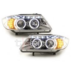 BMW e90/e91 (05-09) lukturi, LED pagriezienu rādītāji, hromēti