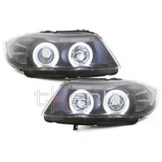 BMW e90/e91 (05-09) CCFL lukturi, melni