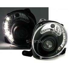 Fiat 500 (07-) LED lukturi, melni