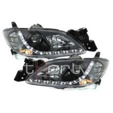 Mazda 3 4D (03-08) LED lukturi, melni