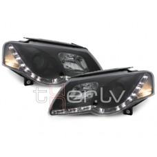VW Passat B6 (05-10) DRL lukturi, melni